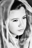 Portrait of girl — Stock Photo