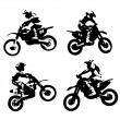 Motor cross — Stock Photo