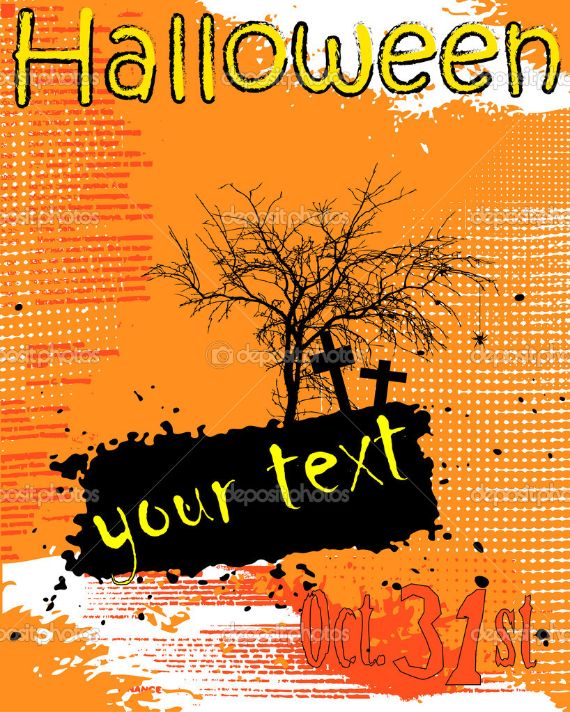 Halloween background  — Foto de Stock   #1265464