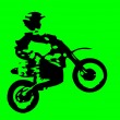 Motor cross — Stock Photo #1381140