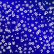 Snowflake background — Stock Photo