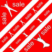 Sale sticker — Stock Photo