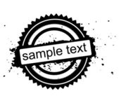 Different kind of rubber stamps — Stock Photo
