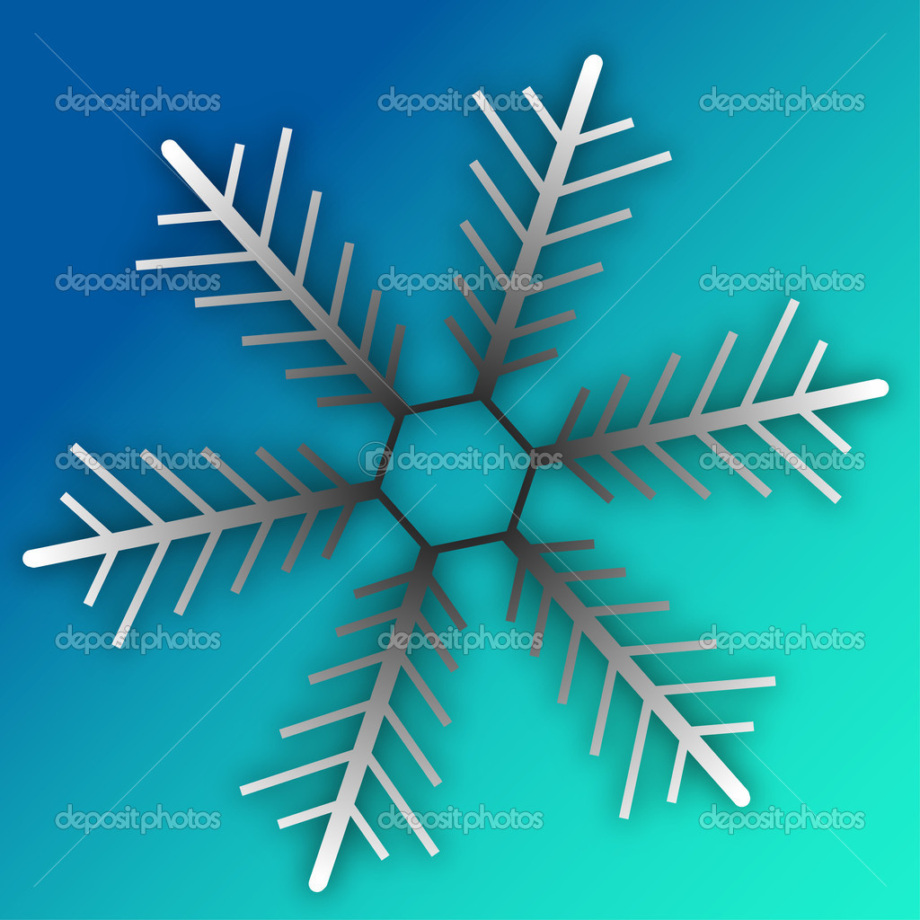 Snowflake illustrations  — Stock Photo #1507724