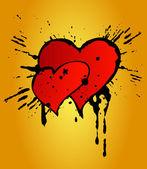 Valentines Day grunge — Stock Photo