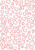 Hearts background — Stok fotoğraf