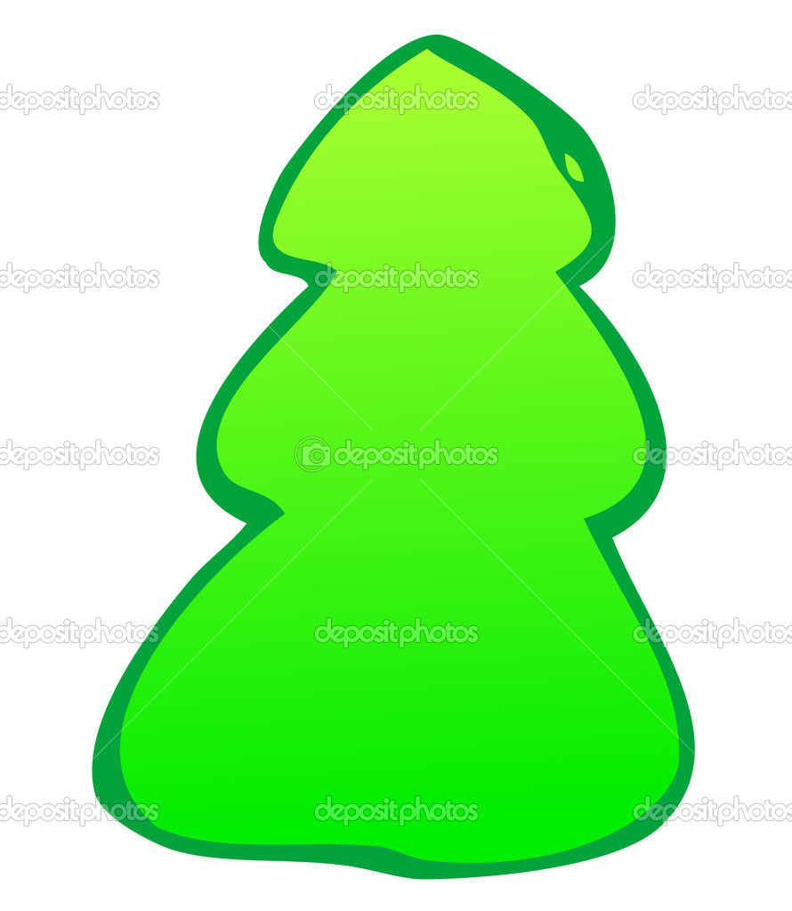 Fir-tree  — Stock Photo #1628009