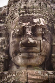 Ancient statue of Buddha in Angkor-wat — Stock Photo
