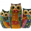 Owl family 2 — Stock Photo