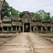Antient temple of cambodia - Stock Photo
