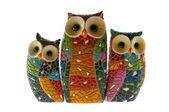 Owl family 2 — Stock Photo