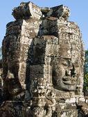 Cambodia faces — Stock Photo