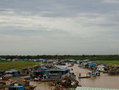 Vietnam peopla at cambodia — Stock Photo