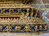 Details of the King palace Thailand — Stock Photo