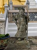 Temple detail Bangkok — Stock Photo