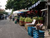 Bangkok traditional marketplace — Foto de Stock