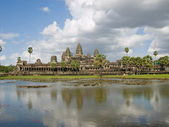 Angkor wat view — Stock Photo