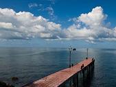 Pier of the paradise — Stock Photo