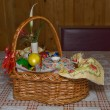 Russian easter set — Stock Photo