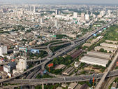 Bangkok view from the top point — Stock Photo