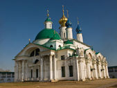The cathedral of the Rostov monastery — Stock Photo