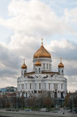 The main Russian cathedral — Stock Photo