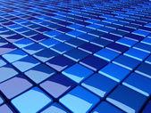 Blue_boxes_b2 — Stock Photo