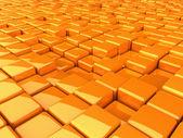 Boxes_orange — Stock Photo