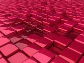 Purple different boxes — Stock Photo