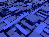 Plates_blue — Stock Photo