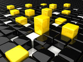 Boxes_Background_BY — Stock Photo