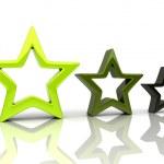 Three stars 1 — Stock Photo #1212650