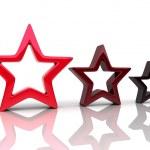 Three stars — Stock Photo #1223986