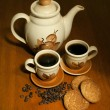 Royalty-Free Stock Photo: Coffee set
