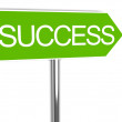 Way to success — Stock Photo