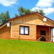 Wooden house — Stock Photo #1215460