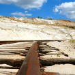 Old rusty railway — Stock Photo #1215846