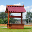 Wooden well — Stock Photo #1216081