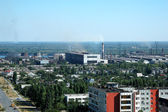 Russia kind on the city of Volgograd — Stock Photo