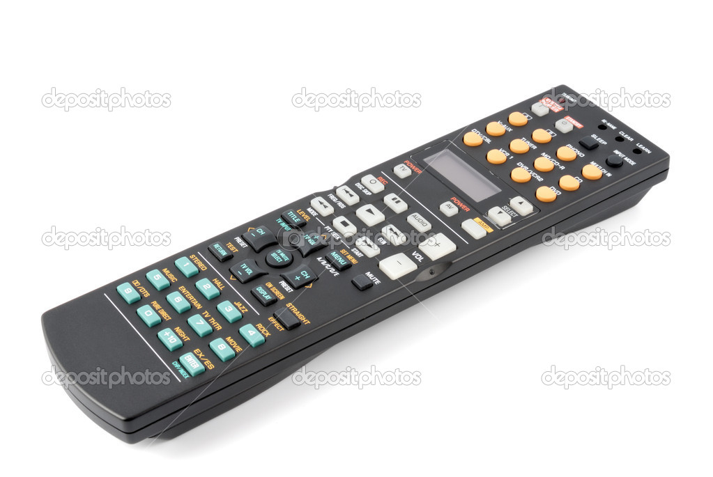 Remote control panel on a white background  Stock Photo #1237841