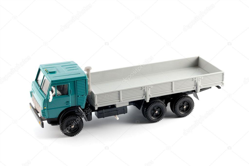 Коллекции модель грузовика - Стоковое фото denisds #1261733