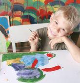 Le jeune artiste. — Photo
