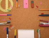 School accessories. — Foto Stock