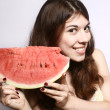 Stock Photo: Water-melon.