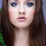 Beautiful mermaid girl — Stock Photo