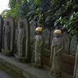 Jizo statuettes — Stock Photo #1236946