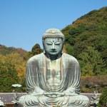 Great Buddha statue in Kamakura — Stock Photo