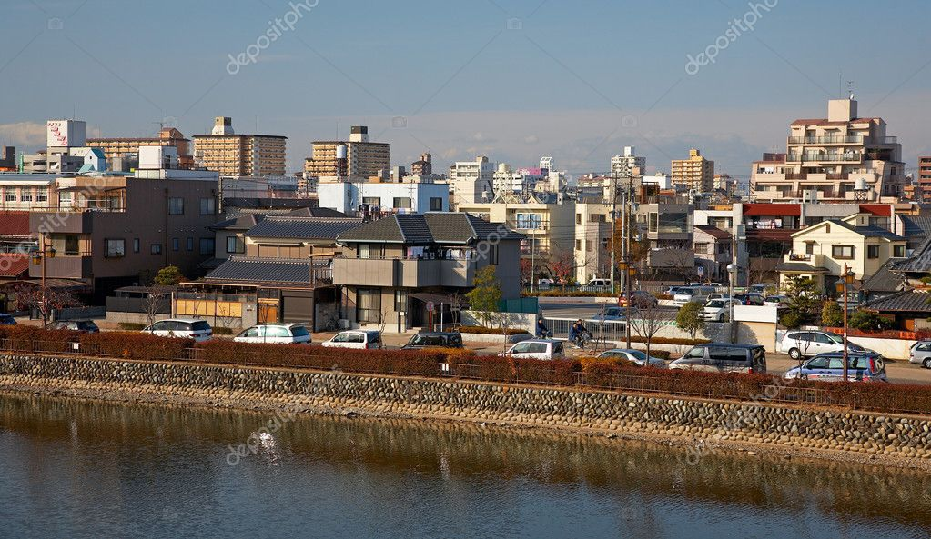 View on town of Nagoya, Japan — Stock Photo #1238154