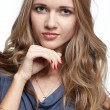 Beautiful blonde european girl — Stock Photo