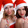 Stock Photo: Celebrating Christmas